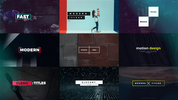 Quick Titles - Download Videohive 20470704