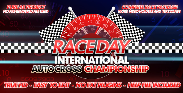 Race Day A Complete Racing Package - Download Videohive 2417635