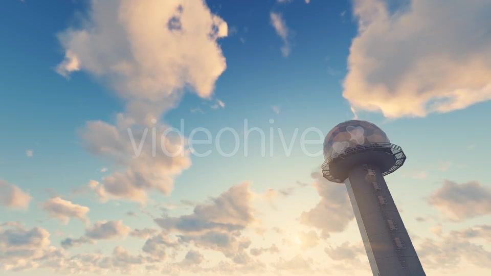 Radar Ball Radome Tower - Download Videohive 19451870