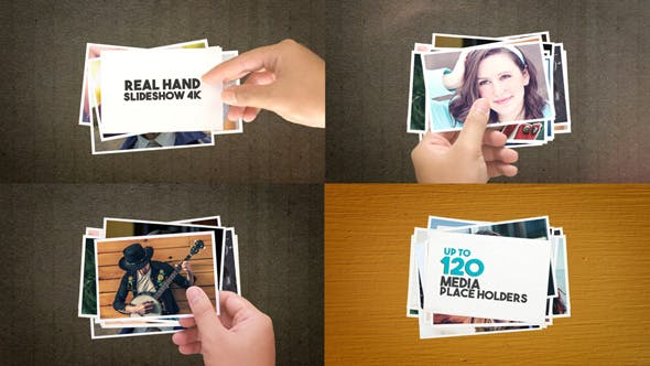 Real Hand Slideshow 4K - 15592749 Videohive Download