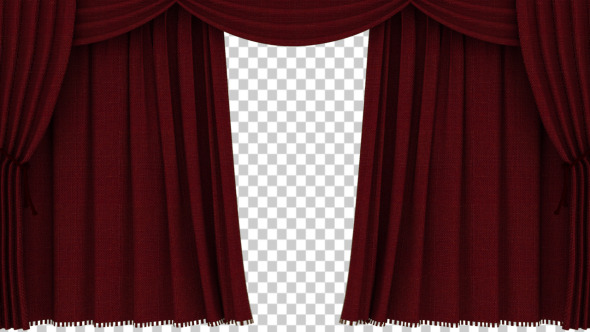 Realistic Red Curtain Opening - Download Videohive 2338117