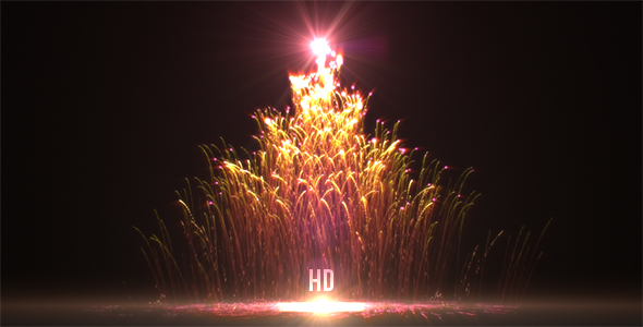 Red Christmas Tree - Download Videohive 21028659