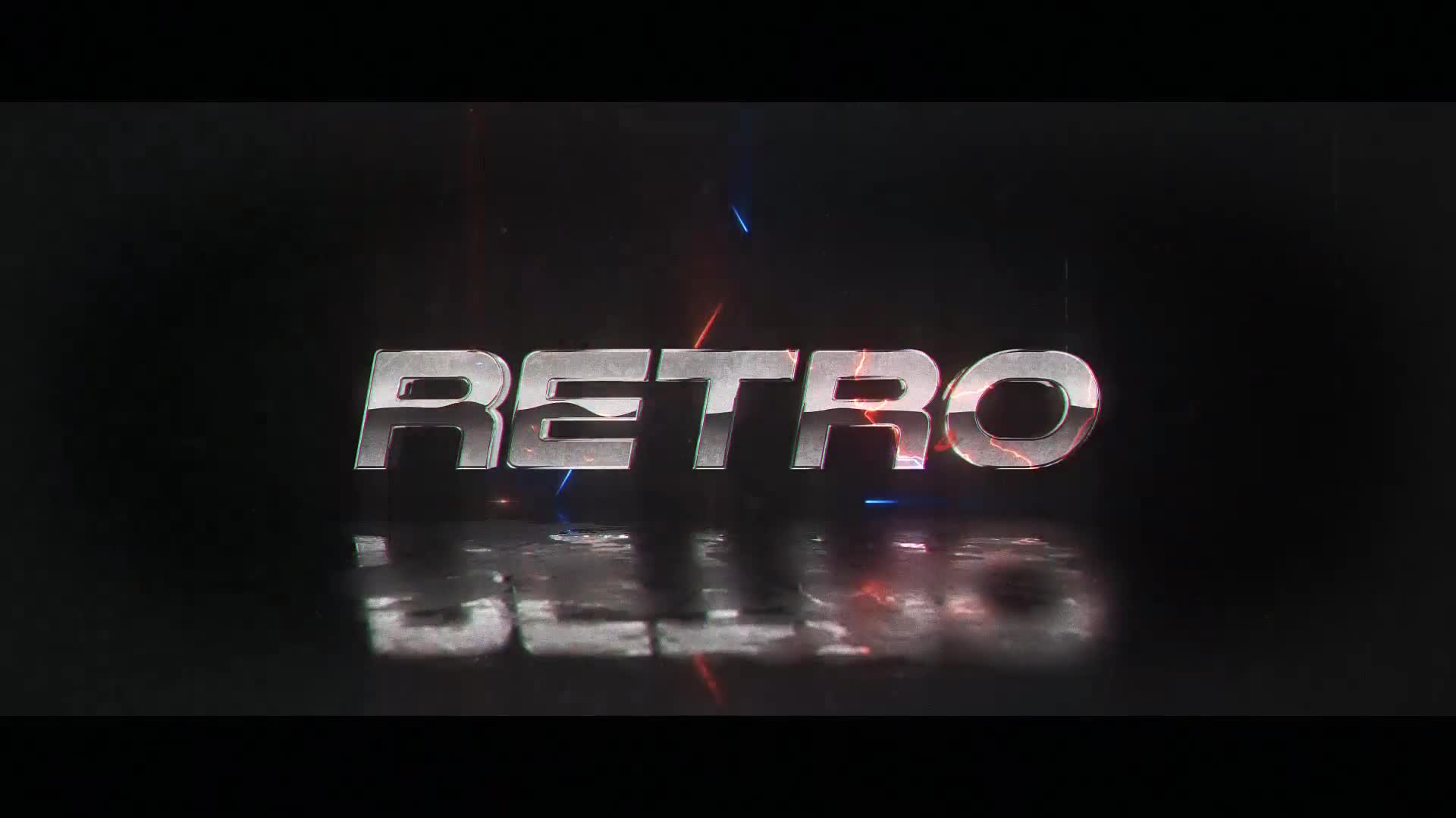 Retro Wave Logo - Download Videohive 22861180