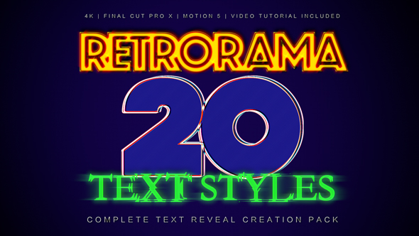 Retrorama - Download Videohive 19957956