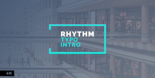 Rhythm Typo Intro - Download Videohive 20142301