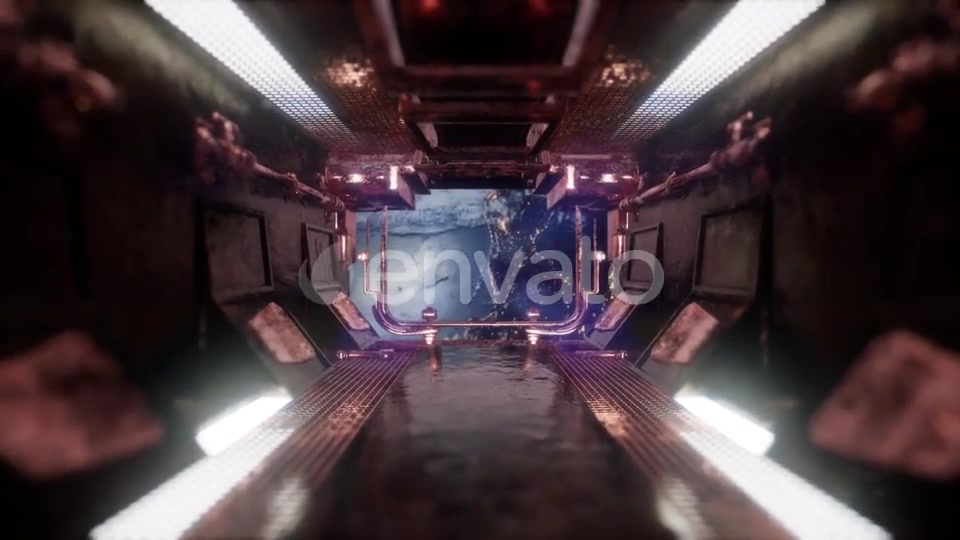 Ride in a Spaceship Tunnel - Download Videohive 22134602