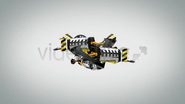 Robot Titles Transforming Alphabet - Download Videohive 2280872