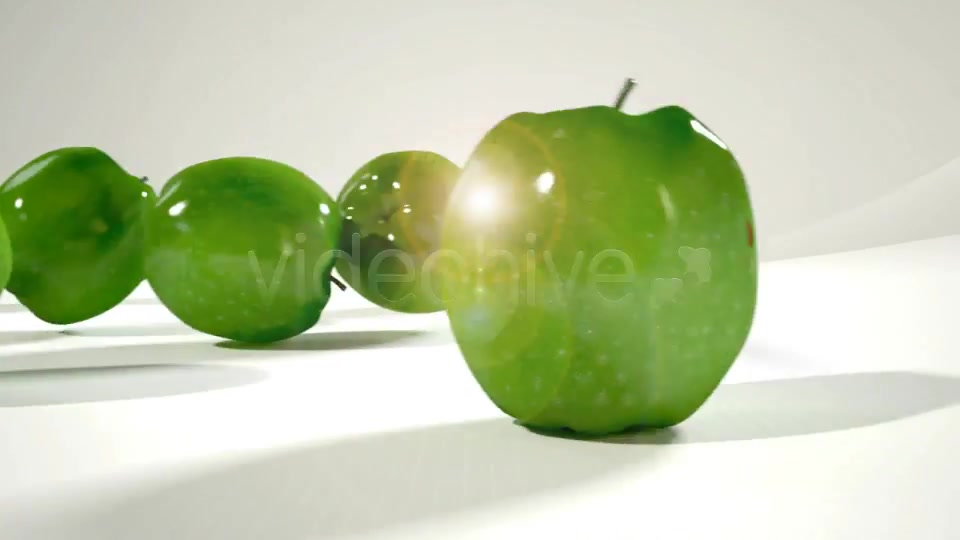 Rolling Fruit Apples Animation - Download Videohive 2331727