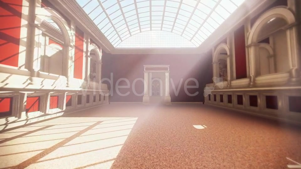 Roman Architecture Great Hall - Download Videohive 20695837