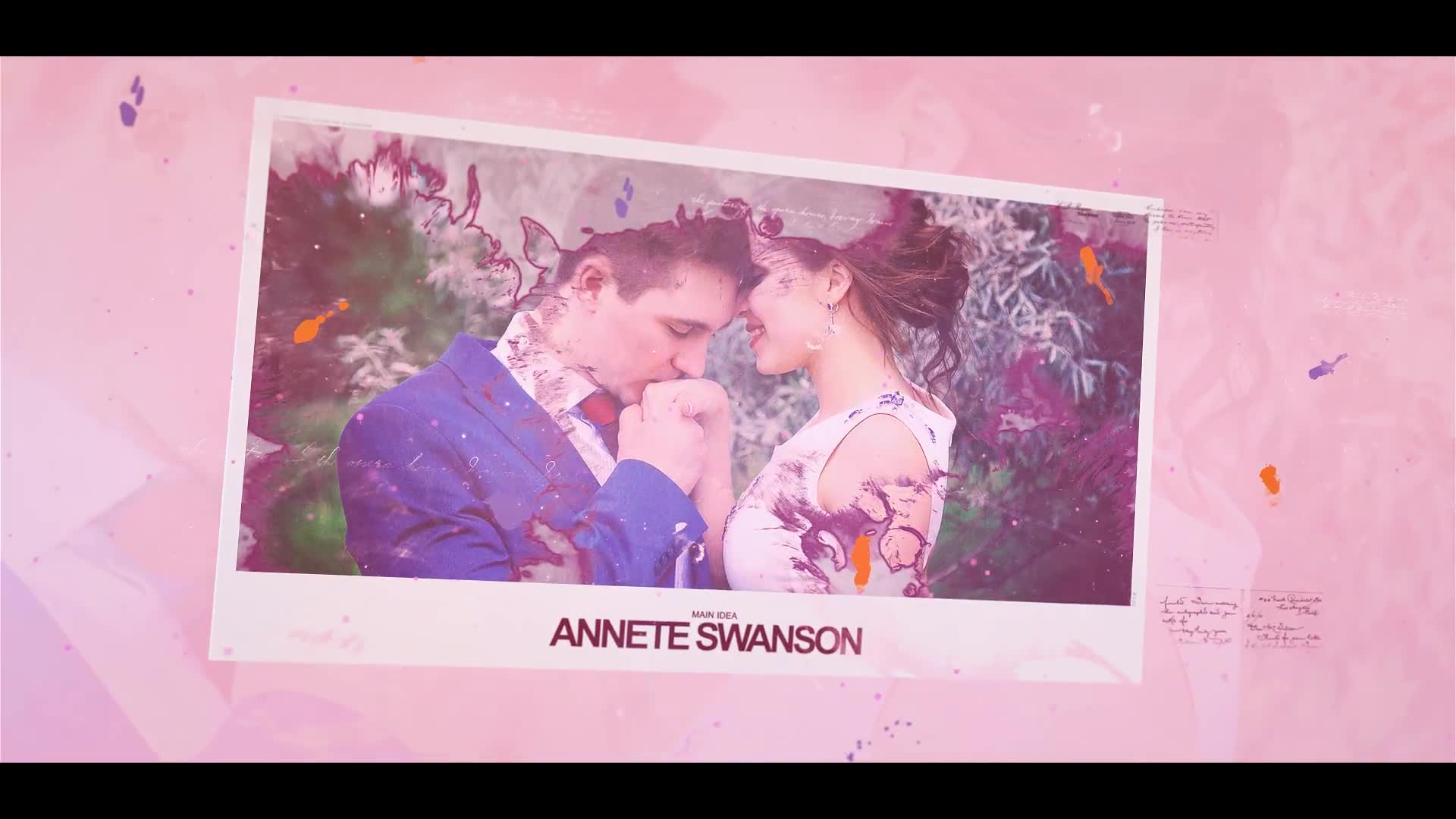 Romantic Cards Ink Slideshow - Download Videohive 20630627