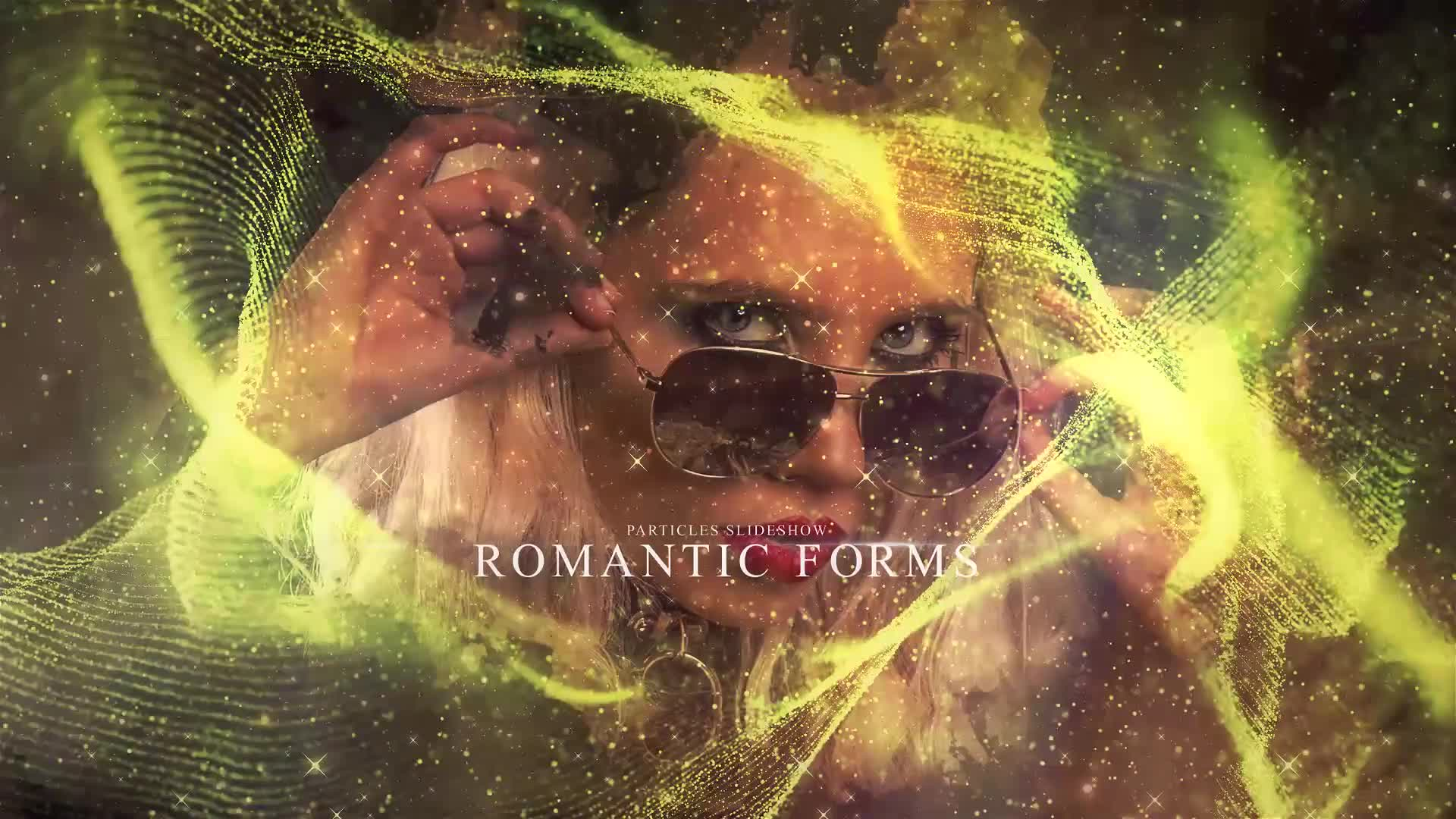 Romantic Forms Particles Slideshow Videohive 31368899 Premiere Pro Image 1