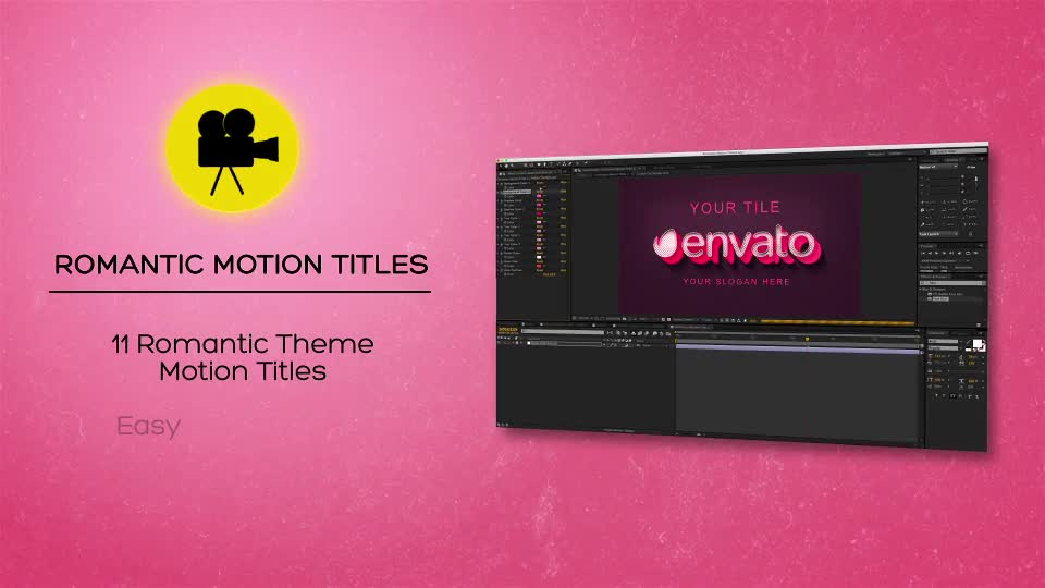 Romantic Motion Titles - Download Videohive 20456480
