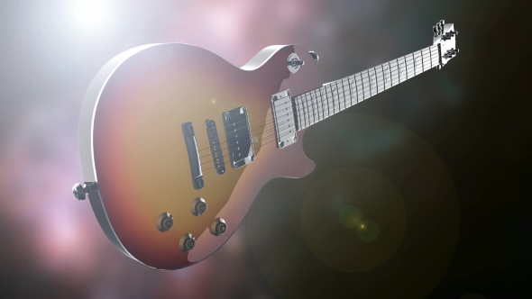 Rotate Electric Guitar - Download Videohive 19350936