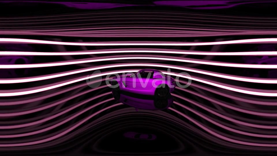 Rotate Luxury Sport Car in Virtual Reality - Download Videohive 21987505