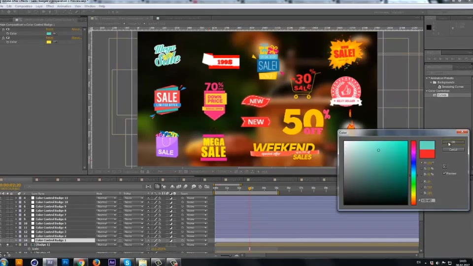 Sales Labels 2 - Download Videohive 19423493