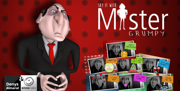 Say It With Mister Grumpy - Download Videohive 9159224