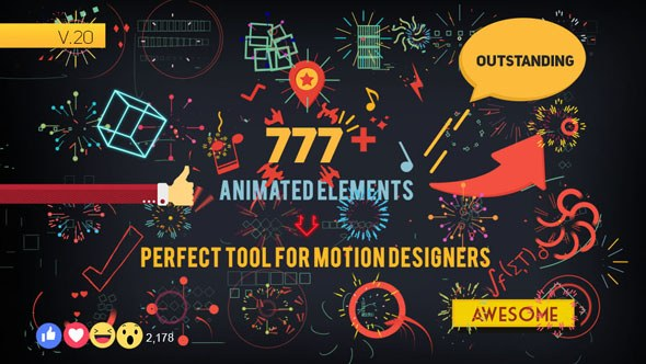 Shape Elements - Download Videohive 7826596