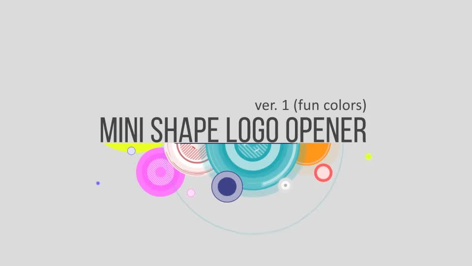 Shape logo minimal - Download Videohive 10600768