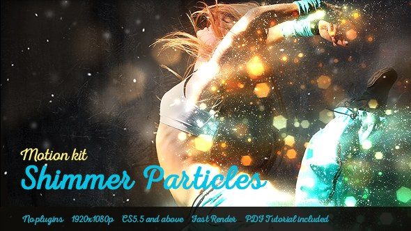 Shimmer Particles Motion Kit - Download Videohive 19044846