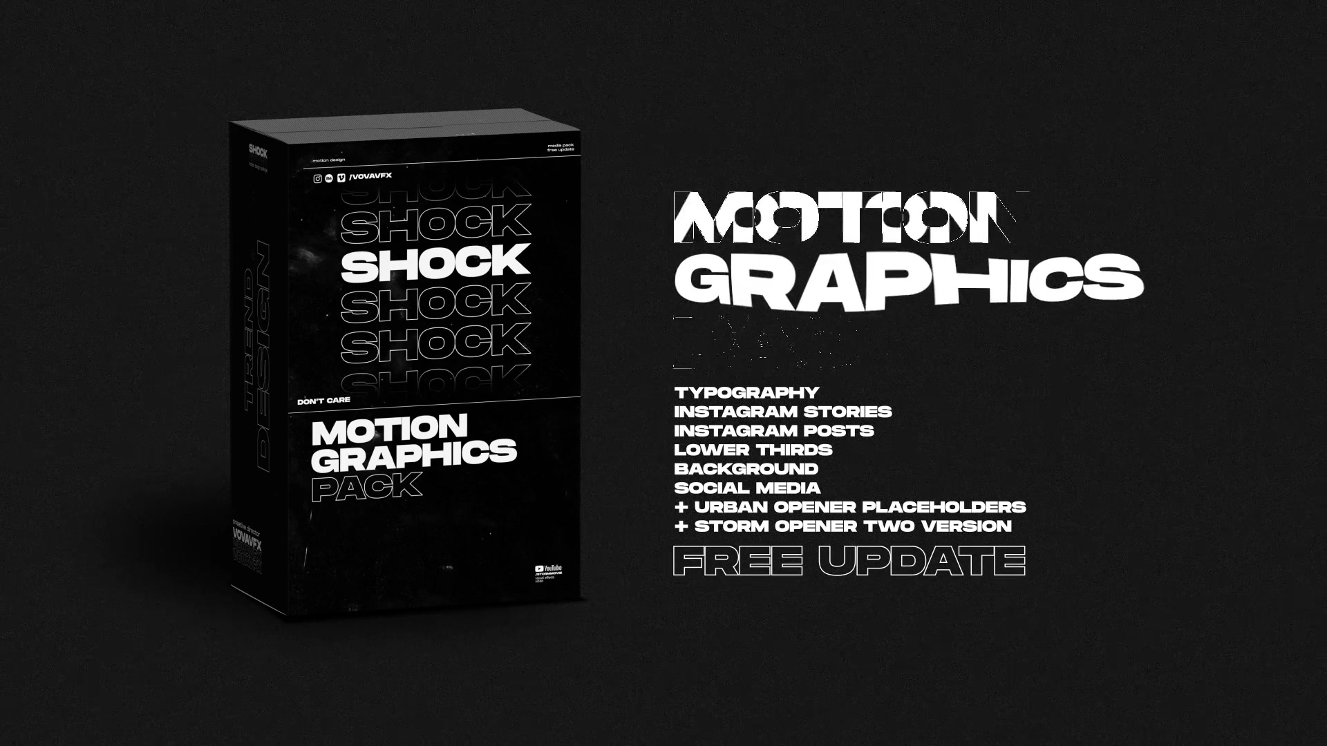 Shock | Motion Graphics Pack Videohive 24181222 After Effects Image 12