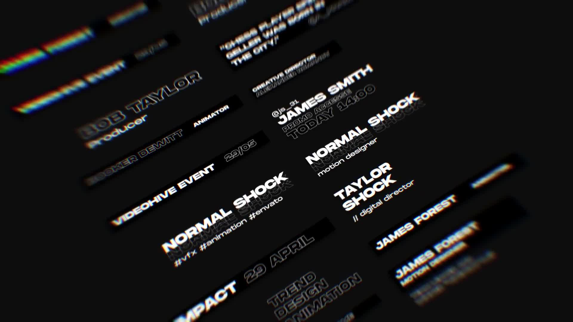 Shock | Motion Graphics Pack Videohive 24181222 After Effects Image 2