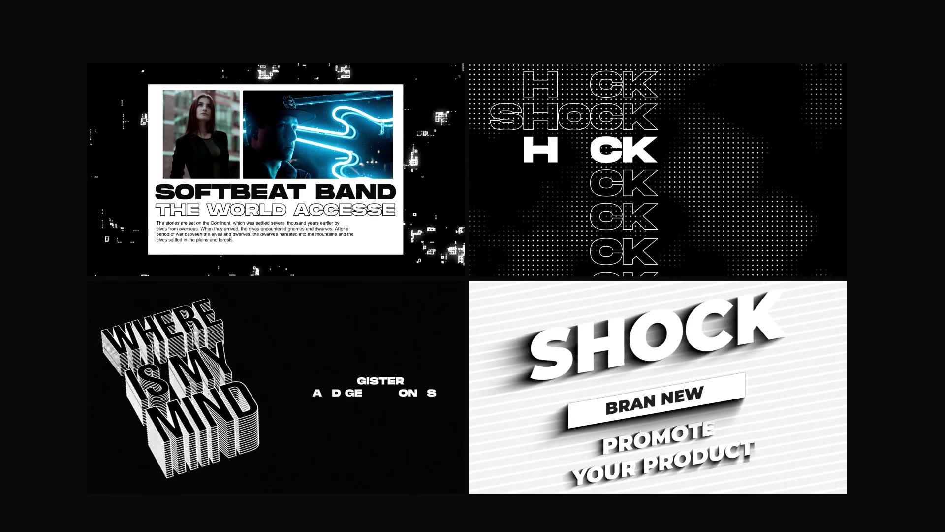 Shock | Motion Graphics Pack Videohive 24181222 After Effects Image 3