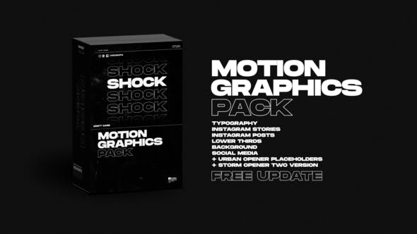 Shock | Motion Graphics Pack - Videohive 24181222 Download