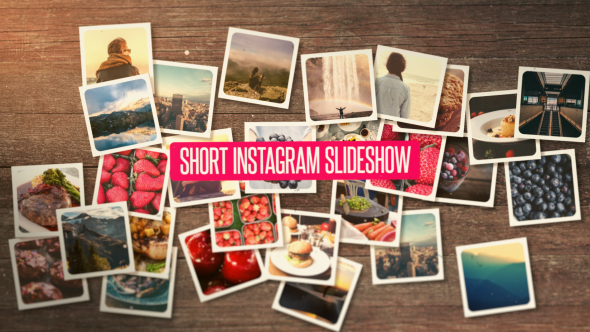Short Instagram Slideshow - Download Videohive 15925280