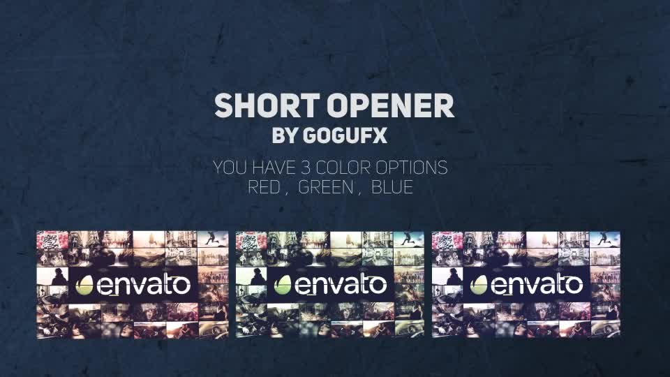 Short Opener - Download Videohive 20810837
