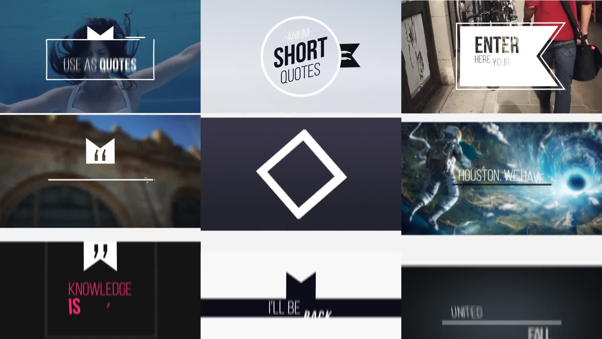 Short Quotes - Download Videohive 21811904