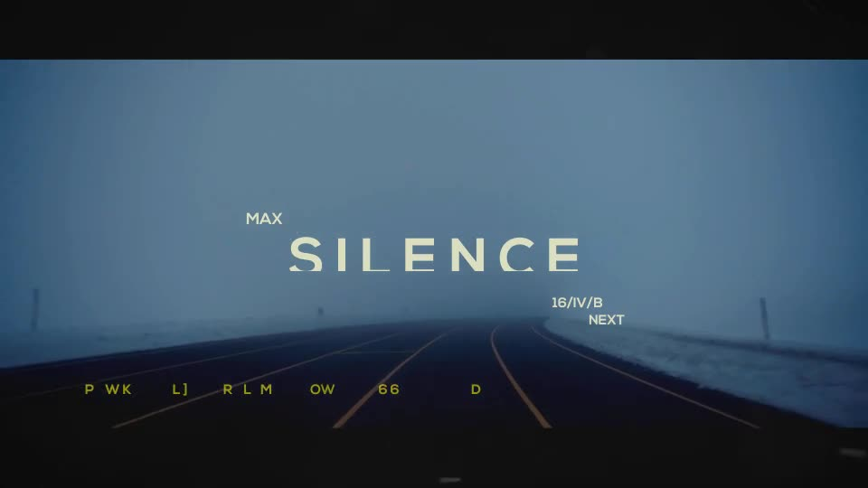 Silence l Opening Titles - Download Videohive 17382135