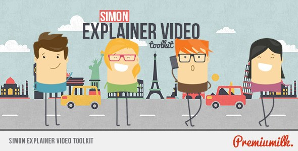 Simon Explainer Video Toolkit - Download Videohive 8954003