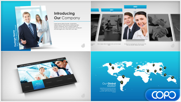 Simple Company Presentation - Download Videohive 7951743