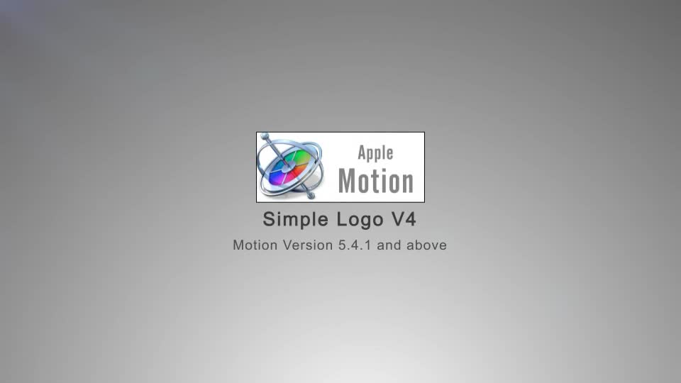Simple Logo V4 Apple Motion - Download Videohive 22663407