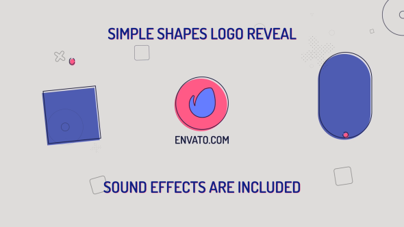 Simple Shapes Logo - Download Videohive 21266274