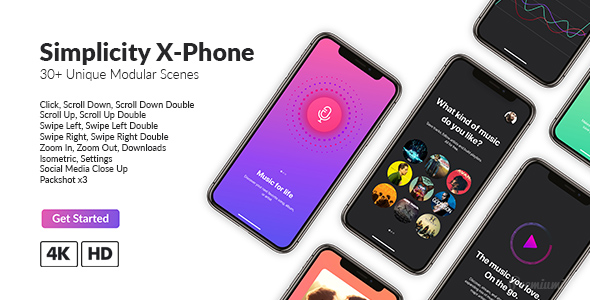 Simplicity X Phone Promo - Download Videohive 21462845