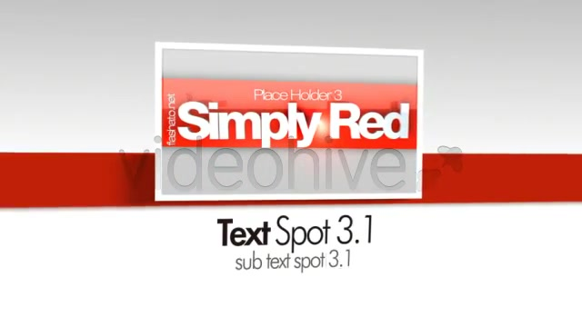 Simply Red CS4 - Download Videohive 99368