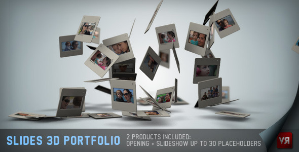 Slides 3D Portfolio And Opening - Download Videohive 2639624