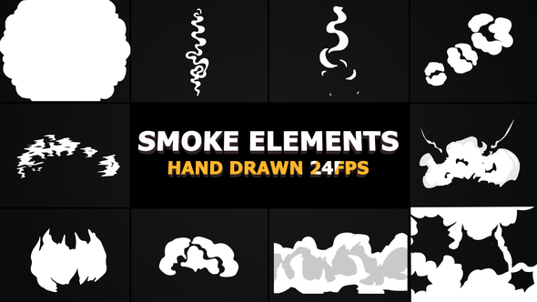 Smoke Elements and Transitions Pack - Download Videohive 22873864