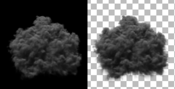 Smoke Explosion from 2 Different Angles - Download Videohive 133065