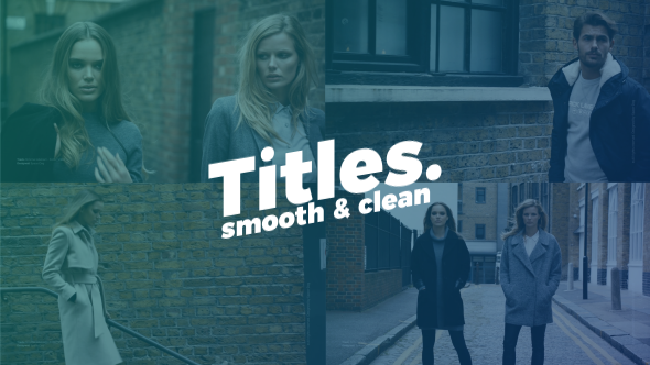 Smooth Clean Titles - Download Videohive 20891086