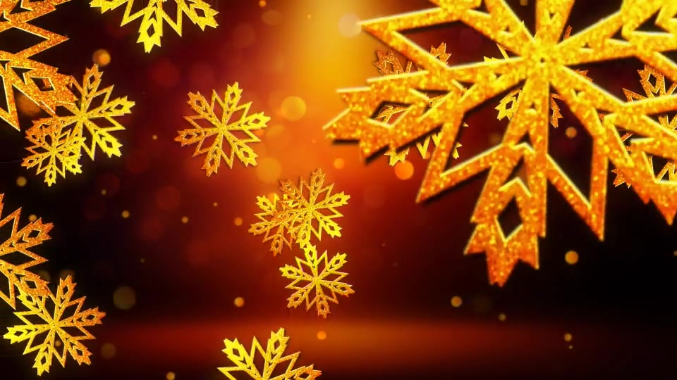 Snowflakes Logo Apple Motion - Download Videohive 18705444