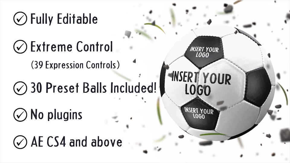 Soccer Ball Logo Reveals - Download Videohive 20715311