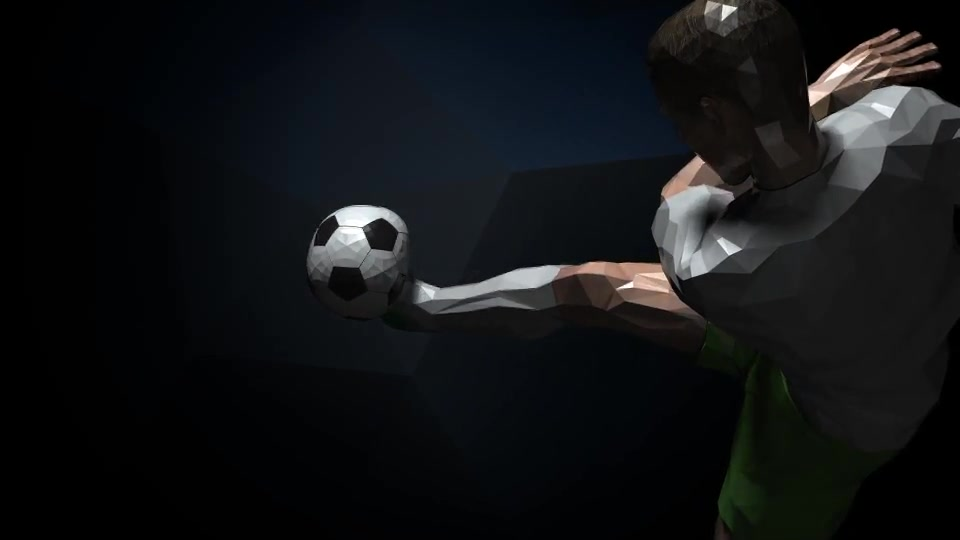 Soccer Kick Player Logo Videohive 16437927 After Effects Image 3