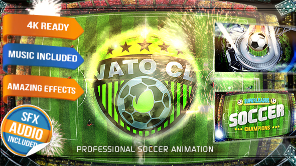 Soccer Logo Opener Football Intro - Download Videohive 15993628