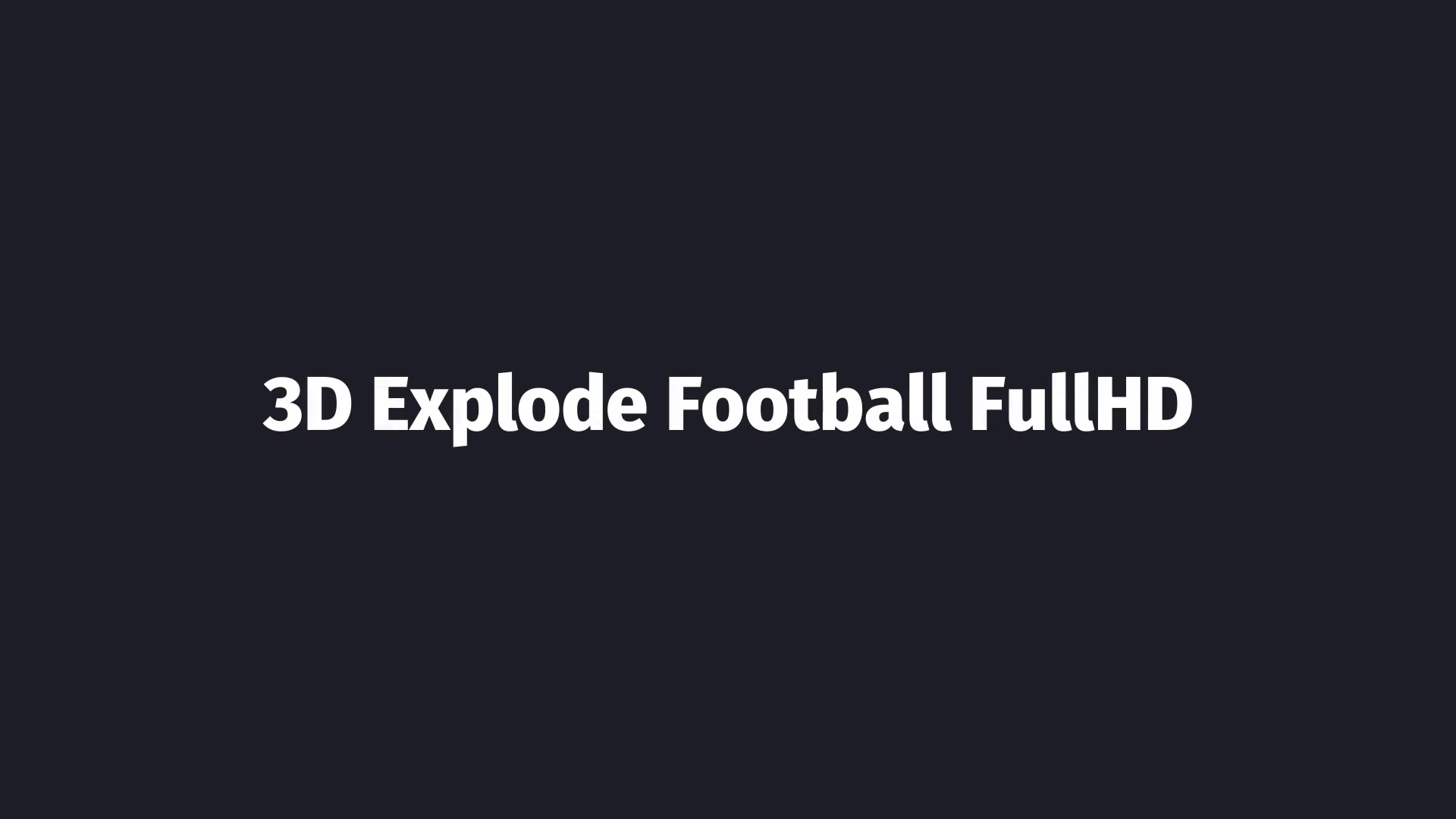 Soccer Opener - Download Videohive 158748