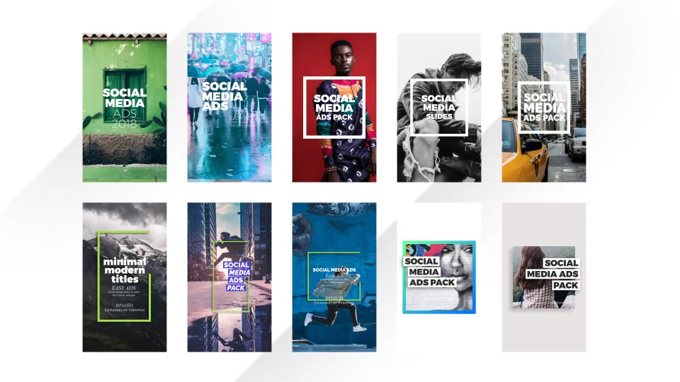Social Media Ads Pack - Download Videohive 22171269