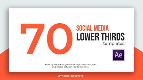 Social Media Lower Thirds - Download 24493898 Videohive