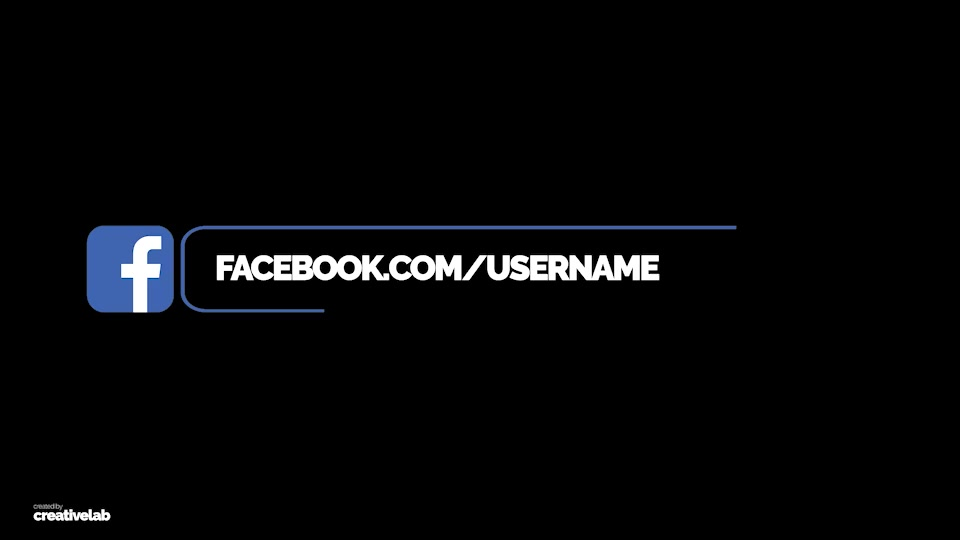 Social Media Lower Thirds - Download Videohive 21883024