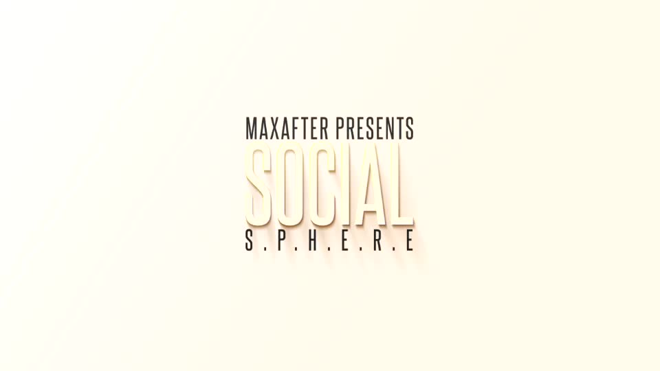 Social Sphere - Download Videohive 6163903
